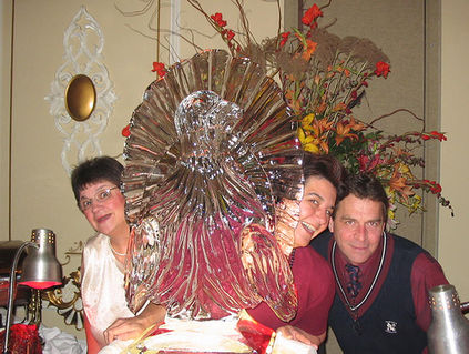 turkey ice sculpture