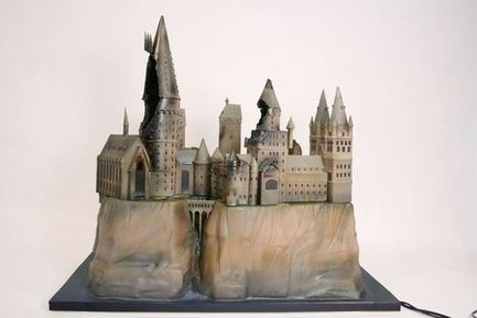 harry potter premiere cake