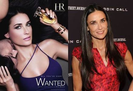 Demi Moore Helena Rubenstein