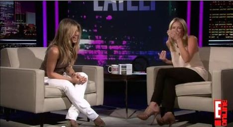 Jennifer Aniston Chelsea Handler