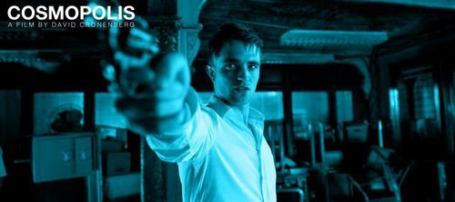 Robert Pattinson gun Cosmopolis