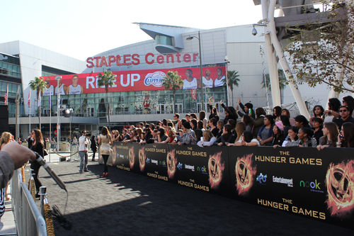 hunger games worldwide premiere